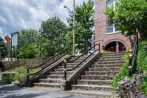 Dunsmuir, California - Steps to Dunsmuir