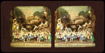 Stereokort, Guillaume Tell 2, La fête des pasteurs - SMV - S151b.tif
