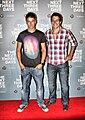 Steve Peacocke and Lincoln Younes 2011.jpg