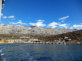 Stinica - ferry port ^ Velebit montain - panoramio.jpg