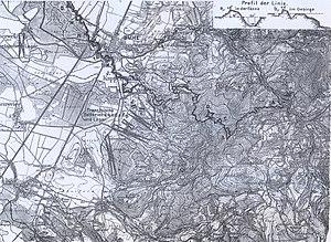 Bühl-Stollhofen Line - Image: Stollhofener Linien Südteil