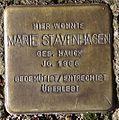Stolperstein Arnstadt Markt 4-Marie Stavenhagen.JPG