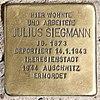Stolperstein Carl-Schurz-Str 39 (Spand) Julius Siegmann.jpg