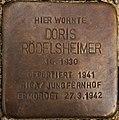 Stolperstein Göppingen, Doris Rödelsheimer.jpg