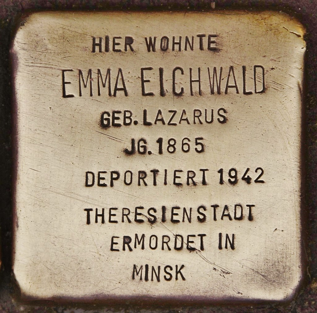 Stolperstein für Emma Eichwald (Kappeln).jpg
