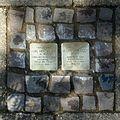 Stolpersteine Krefeld, Verlegestelle (Friedrich-Ebert-Straße 42).jpg