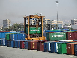 Port of Limassol - Container handling in Limassol New Port