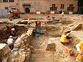 Strasbourg, fouilles place du Château 2012 a.jpg