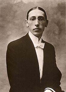 Igor Stravinskij nel 1903