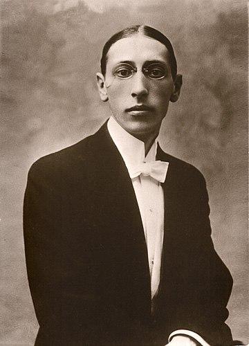 Stravinsky Igor Postcard-1910