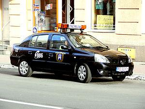 City Guard (Poland) - Poznań City Guard patrol car