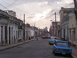 Typical street in Cienfuegos