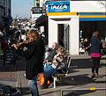 Street performer, Sutton High Street, Sutton, Surrey, Greater London (3).jpg