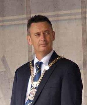 Mayor of Tauranga - Stuart Crosby, mayor from 2004 to 2016