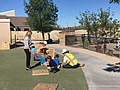 """Students at work during """"Construction Day"""" at Valley View..jpg"""