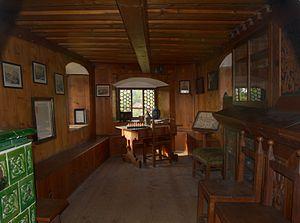 Hans von und zu Aufseß - Study-room of Hans von Aufseß