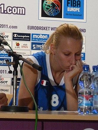 Olympiacos Women's Basketball - Image: Styliani Kaltsidou