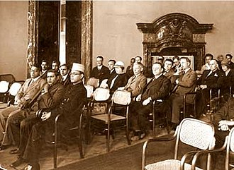 Subhas Chandra Bose - Image: Subhas Bose at inauguration of India Society Prague 1926