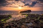 Sunrise at low tide seaside Kenting National Park-ID9286.jpg