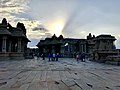 Sunset at Vittala temple.jpg