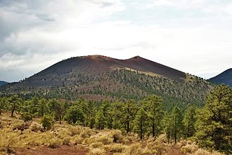 Sunset Crater - Sunset Crater from the Cinder Hills