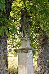 Sculpture of Saint Joseph and Baby Jesus in Mnichov