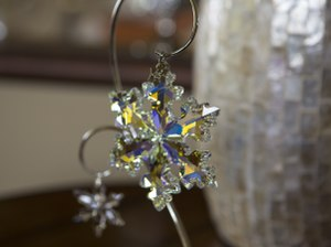 A lead crystal Swarovski ornament