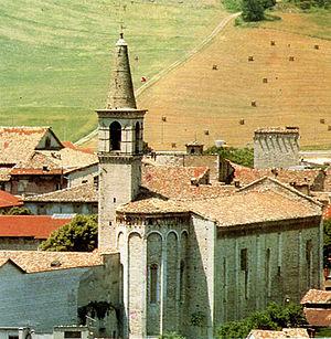 Cagli - Church of San Francesco.