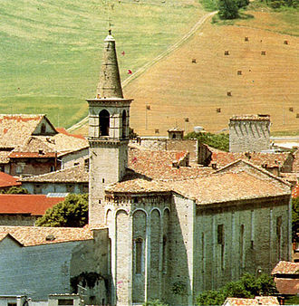 Cagli - Church of San Francesco.