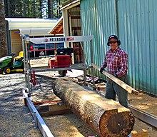 Portable sawmill | Revolvy
