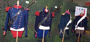 Sonderbund War - Swiss Army uniforms of the Sonderbund War