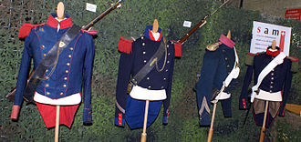 Sonderbund War - Swiss Army uniforms of the Sonderbund War