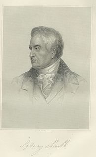 Sydney Smith English wit, writer, Anglican cleric (1771-1845)