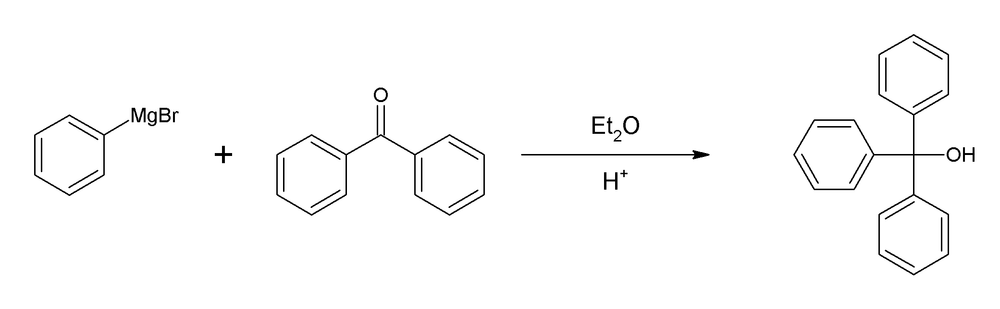 synthesis of triphenylmethanol