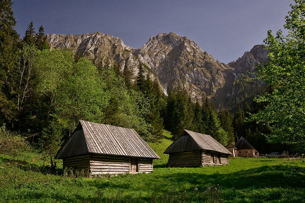 Dans les montagnes autour de Zakopane : La Polana Strążyska. Photo d' Aneta Pawska