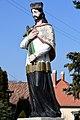 Szeged-Tápé, Nepomuki Szent János-szobor 2021 07.jpg