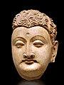 Tête de Bouddha (Musée nat. dart oriental, Rome) (5874042697).jpg