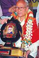 T. V. Venkatachala Sastry receiving the Maasti Award.jpg