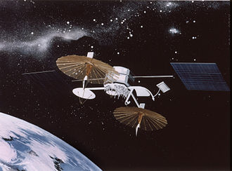 Tracking and data relay satellite - Image: TDRS gen 1