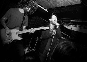 The Damned Things - Image: TD Tat The Borderline June 10th 2010vans 1966flickr 005