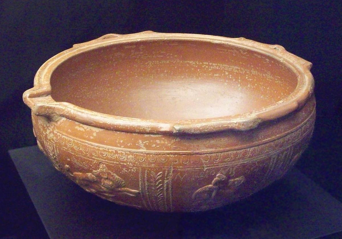 Cer mica romana wikipedia la enciclopedia libre for Arcilla para ceramica