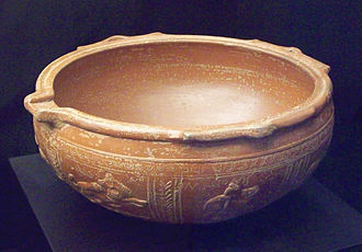 Castulo - Roman bowl from Castulo, dating to the first century AD.