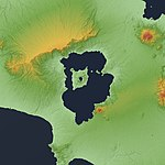 Taal Caldera Relief Map, SRTM-1.jpg
