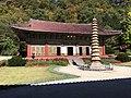 Taeung Hall and Sokka Pagoda at Pohyonsa.jpg