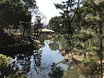 Takueichi Pond and Seifukan Teahouse in Shukkei Garden 5.jpg