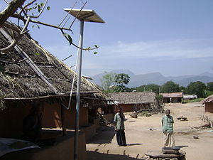 Manjampatti Valley - Talinji houses with solar lighting