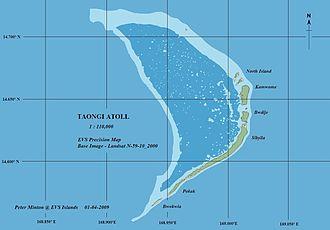 Bokak Atoll - Map of Bokak