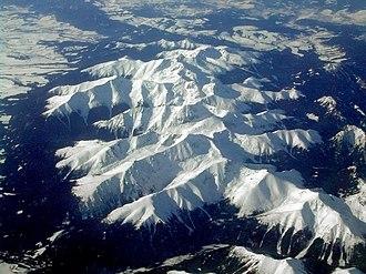 Western Tatras - Image: Tatra mountains western side 2