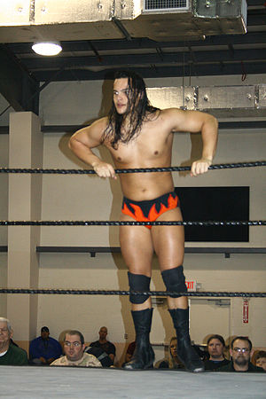 Bo Dallas - Rotundo during a match in March 2010 at an FCW show