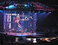 Taylor Swift during Fearless Tour concert in Portland.jpg